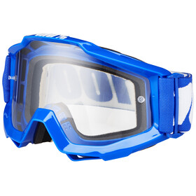 100% Accuri Goggle reflex blue/clear anti fog